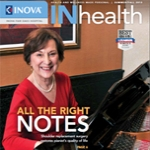 Barbara Donne, a patient who underwent a total shoulder replacement by Dr. Miyamoto is featured on the Summer/Fall issue of Inova INHealth Magazine.
